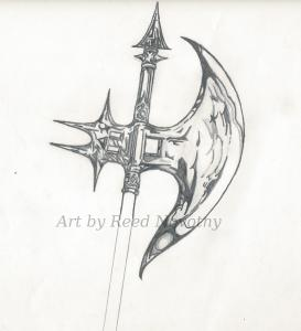Battle Axe drawing up